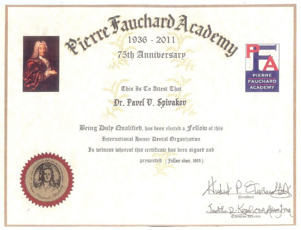 1995_Spivakov_P_fellow-of-international-honor-dental-organisation-pierre-fauchard-academy.jpg